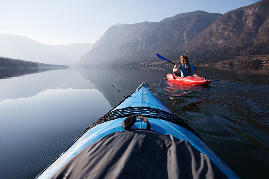 Kajakiarnje po Bohinjskem Jezeru
