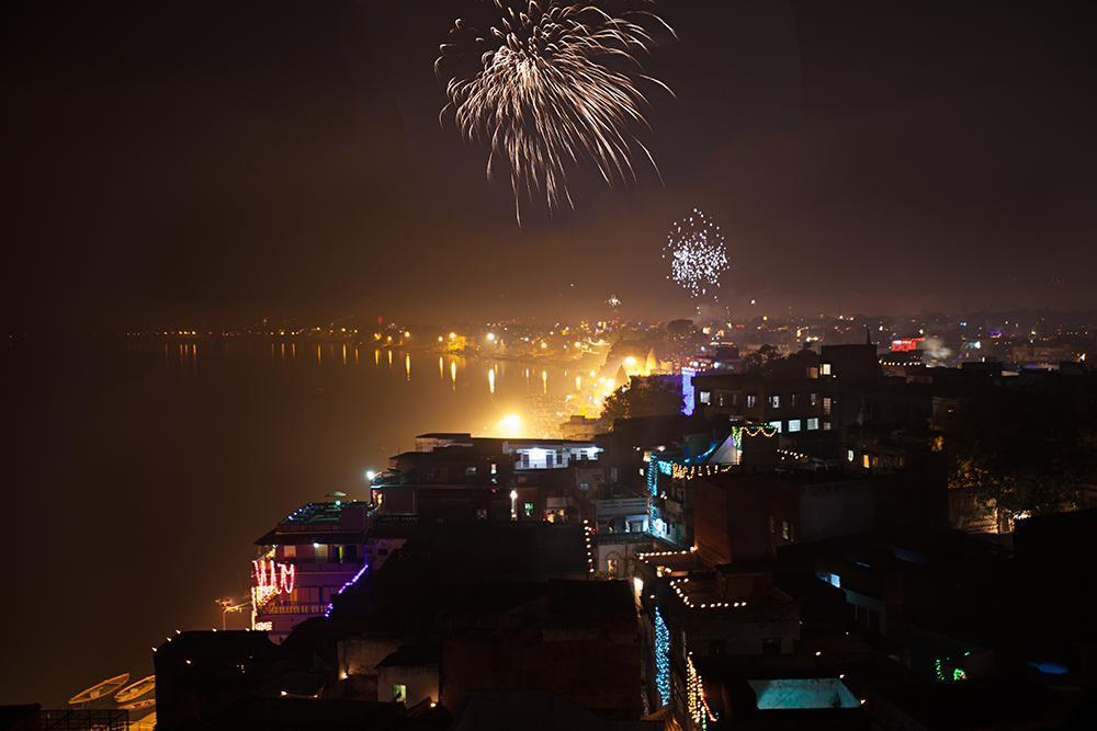 Varanasi Diwali Ganges