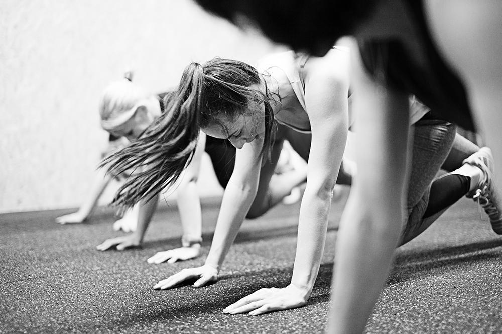 Trening v črno-beli tehniki