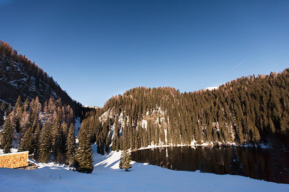 Zasnežena Planina Jezero