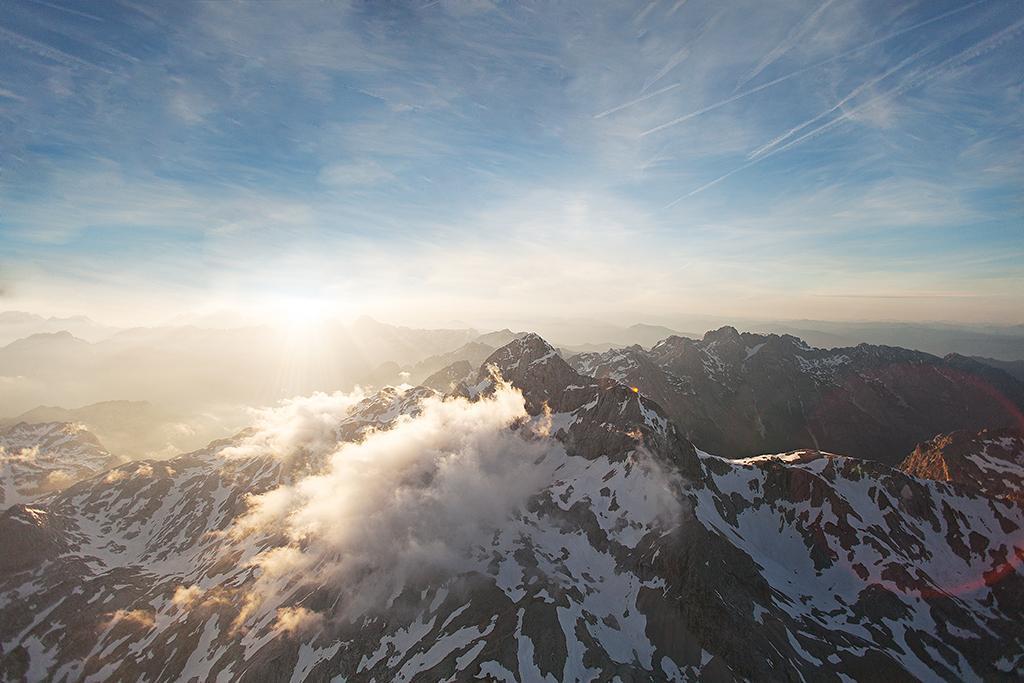 Julijske Alpe iz Zraka Triglav
