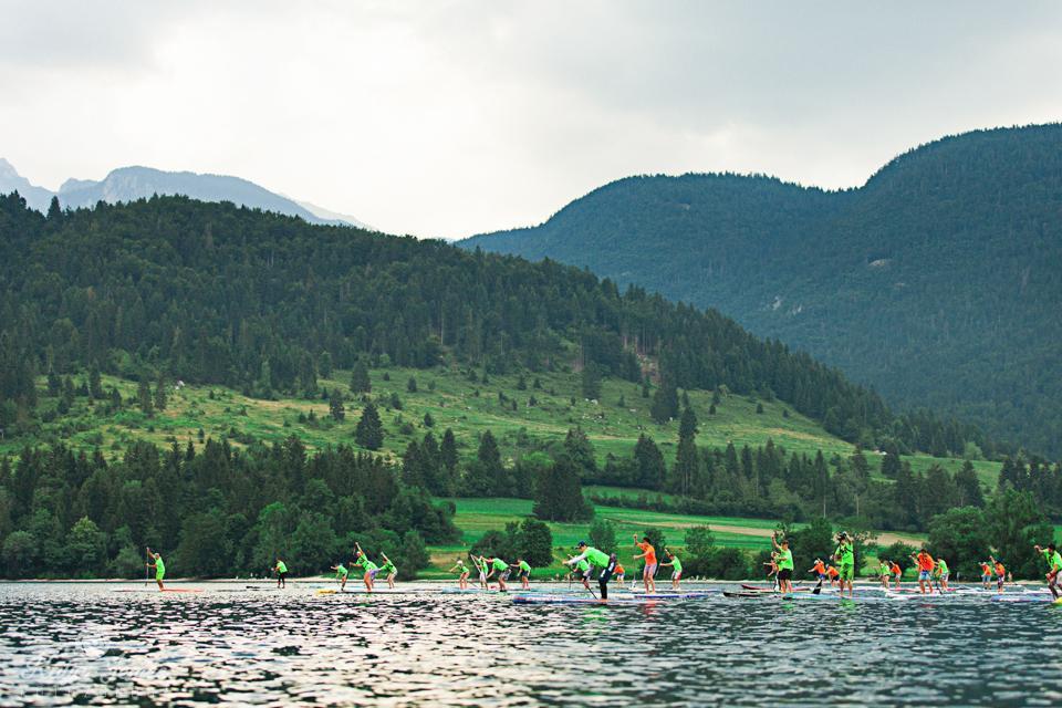 Canoe Marathon Eauropean Championship Bohinj  Sup competition
