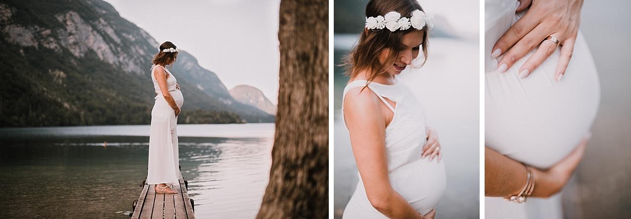 Nosecnisko fotografiranje, Bohinjsko Jezero