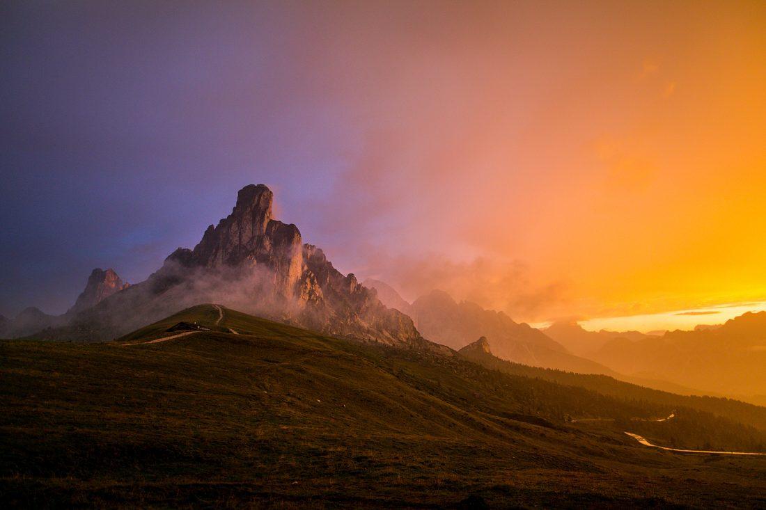 Dolomites_Giau Pass